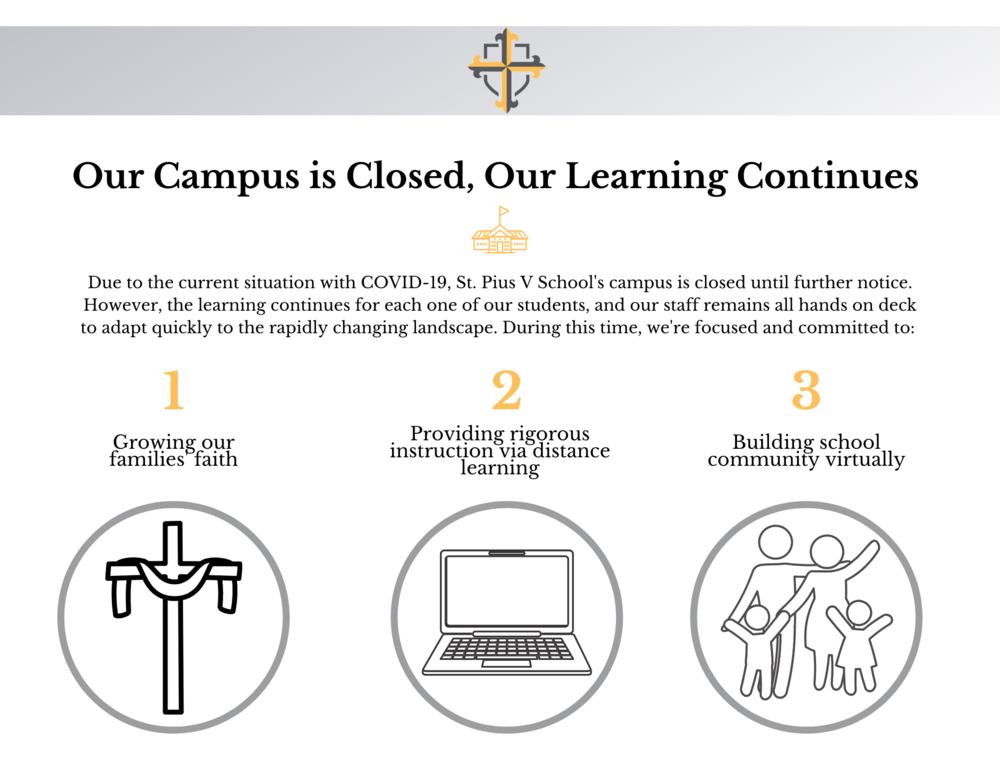 Our Campus is Closed, Our Learning Continues
